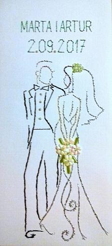 ślub - haft matematycny