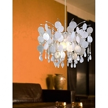 Lampa wisząca nowoczesna FEDRA 91046 Eglo  Rodzinę FEDRA reprezentuje nowoczesny, elegancki i gustowny zwis sufitowy. Stelaż lampy wykonano ze stali chromowanej. Klosze tworzą p...