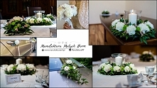 Florystyczna i papierowa oprawa ślubu oraz wesela