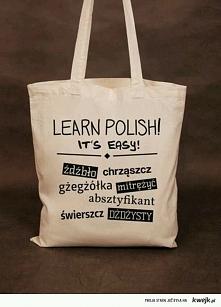 Jak mąż każe czytać po Polskiu :) on się śmieje a ja nie kumczacze:)