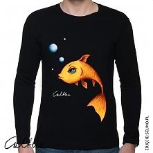 złota rybka - długi rękaw (2 kolory, rozmiary)