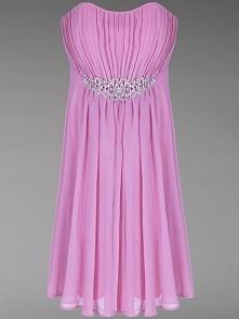 piękna sukienka z lśniącą b...