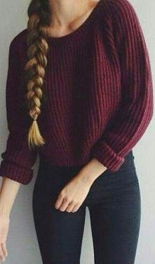 czy tylko ja jestem fanką bordowybordowych sweterków? *-*