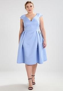 Przepiękny kolor sukienki C...