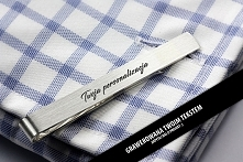 Z TWOJĄ PERSONALIZACJĄ - spinka do krawata