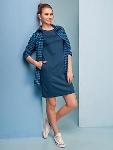 Klasyczna sukienka dostępna także w innych kolorach na thecovershop.pl