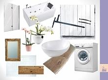 Przedstawiam projekt małej łazienki w bloku, gdzie królować będzie styl rusty...