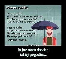 Deszcz padito