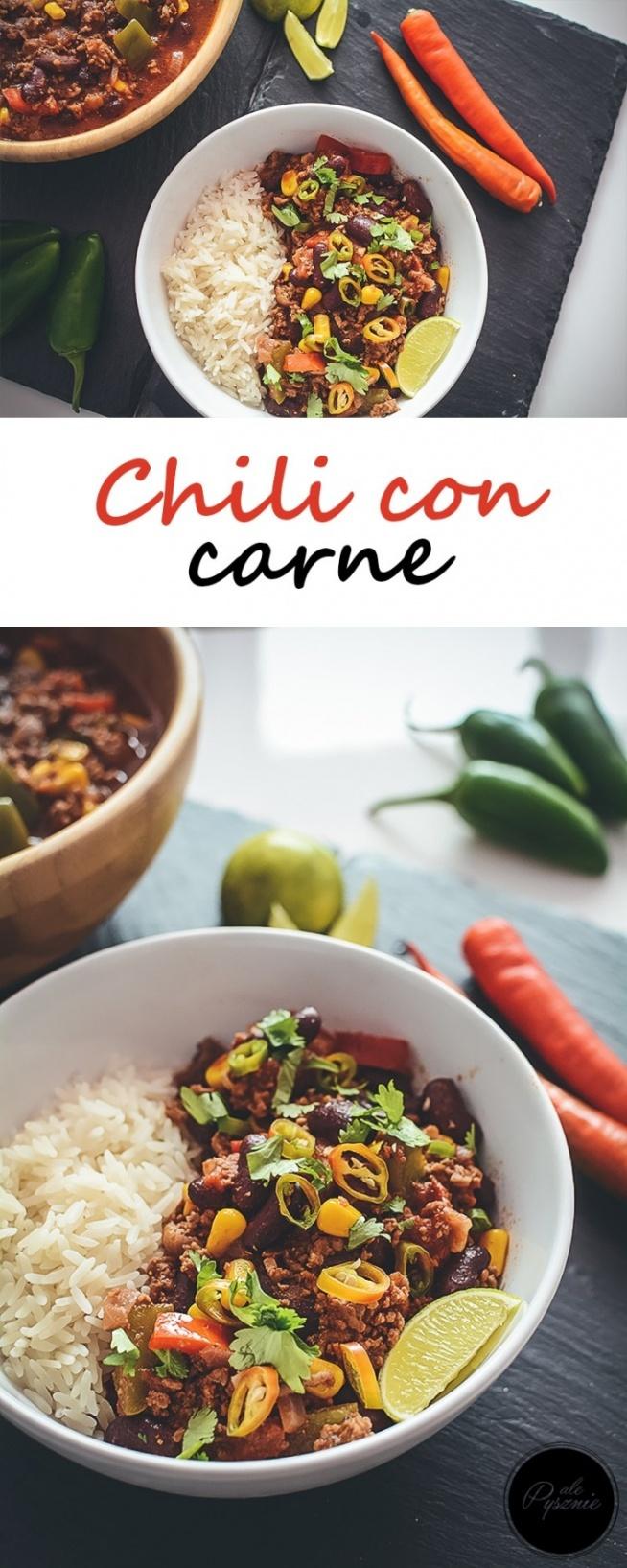 Chili con carne. Kliknij w zdjęcie i zobacz przepis.
