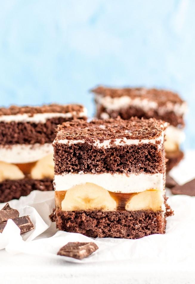"""Przepyszne ciasto """"Jamajka"""" z bananami i galaretką :)"""