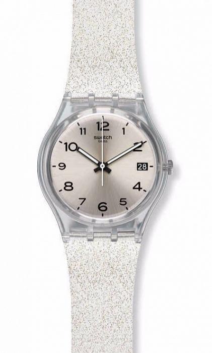 1c8c4cd5e288d5 Swatch GM416C mały zegarek damski zasilany baterią. Koperta wyk.. na ...