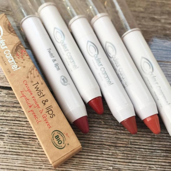 Pomadka do ust Twist & Lips Couleur Caramel !! piękne soczyste pomadki ołówkowe