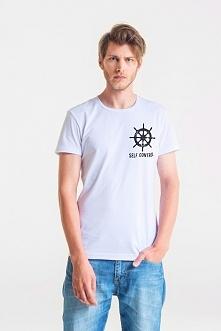 SELF CONTROL MęskI T-shirt
