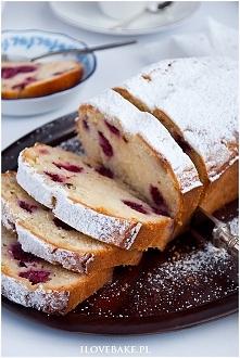 Ciasto z malinami i białą c...