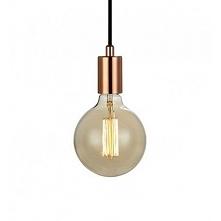 SKY 106171 Markslojd lampa wisząca miedź   SKY to seria nowoczesnych lamp wiszących wyróżniających się minimalizmem i prostą formą. Lampa dostępna w kolorze: miedź, złoty oraz c...