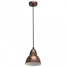 TRURO 49235 EGLO Lampa wisząca MIEDŹ     Oprawa z serii VINTAGE. Wykonana z metalu w kolorze miedzianym. Oprawa doskonała do wnętrz w stylu vintage, industrialnym oraz wielu inn...