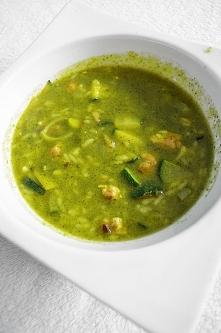 zupa brokułowa z piersią ku...