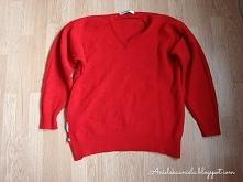 Przeróbka bardzo dużego swetra