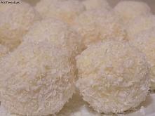 Trufle kokosowe z białą cze...