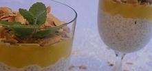 Kokosowy pudding z nasionam...