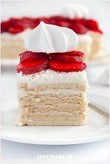Ciasto rafaello bez pieczenia (z truskawkami)  SKŁADNIKI NA KREM BUDYNIOWY:  ...