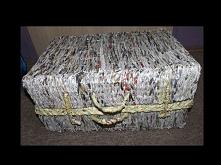 walizka -- papierowa wiklina