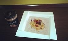Śniadanko - Owsianka z masł...
