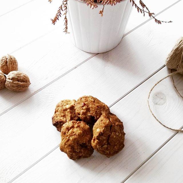 Przepis na najpyszniejsze zdrowe ciasteczka dyniowe <3  Kliknij w zdjęcie :)