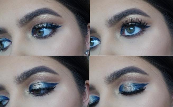niebieski ze złotem :)