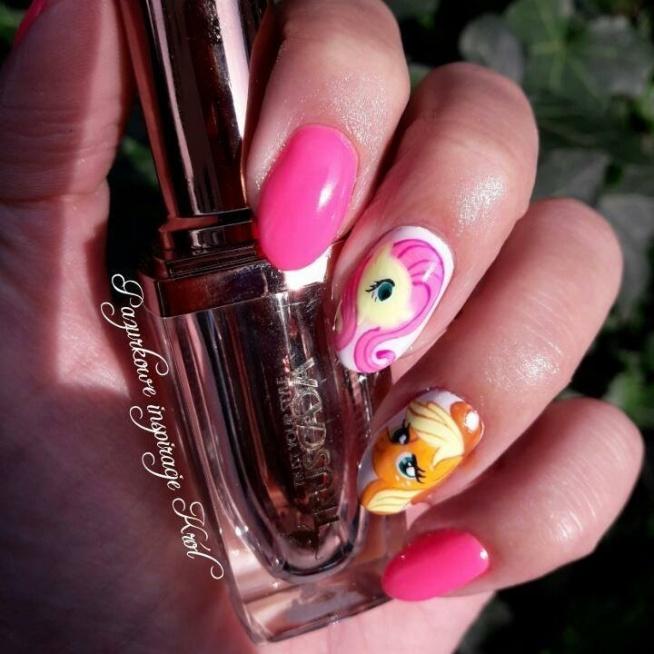 #ponny #nails #kucyki
