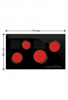 Największa płyta od Solgazu 77cm SOLGAZ GPC 4+2