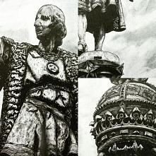 trochę detali ;) pomnik Krzysztofa Kolumba w Barcelonie - format B2