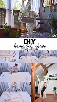 Hamak krzesło brazylijskie w moim wydaniu. Więcej na moim blogu :)