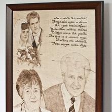 Obraz na rocznicę ślubu.  #rocznicaslubu #anniversary #monidło #portret #obra...