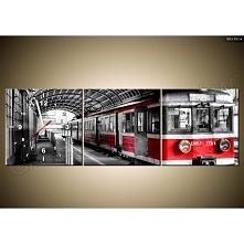 Fotozegar za płótnie - pociąg Kliknij w zdjęcie, by przejść do sklepu! SmartGift.pl Sklep z Prezentami Oraz Gadżetami!