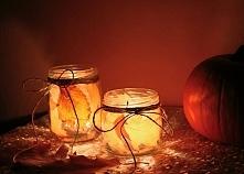 latarenki w słoikach