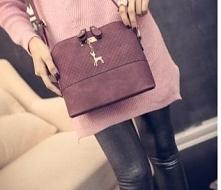 Piękna pikowana torebka ze śliczną zawieszką ♥ Kliknij w zdjęcie i zobacz gdz...