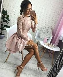 Cudowna kobieca sukienka z ...