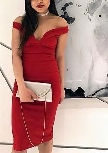 Taką sukienkę znajdziecie na allegro : Czapla_00 Dostępna w kolorach bordo, c...