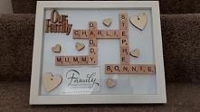 Scrabble Art- moje najnowsze zamówienie