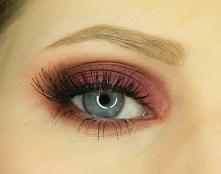 Moja propozycja makijażu na jesień. Co ciekawe, wykonałam go głównie... kontu...