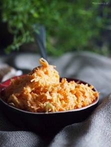 Surówka z marchewki i pora / Carrot and leek slaw