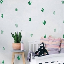 kaktusowa ściana