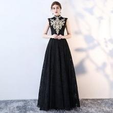 Vintage Czarne Sukienki Wie...