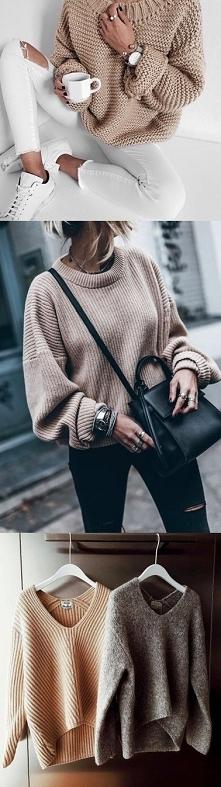jesienne sweterki - KLIKNIJ...