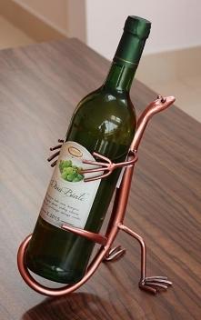 Stojak na wino, ręcznie robiony