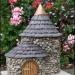 Miniaturowe domki w ogrodzie zamiast...krasnali