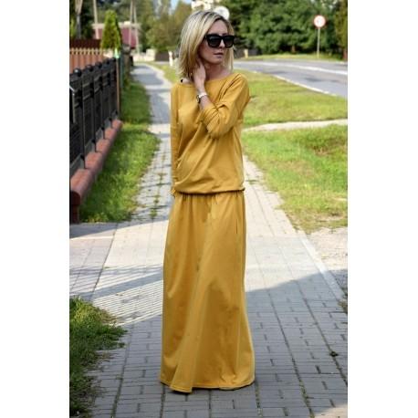 Dress MAXIMA - product Sisters --> shopsisters.eu #dress #sisters #shopsisters #longdress #autumn
