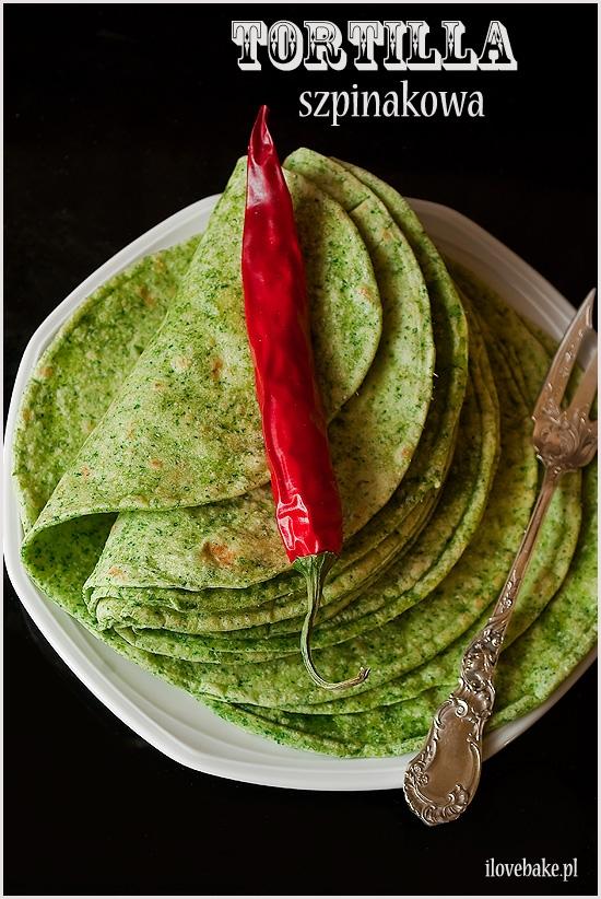 Tortilla szpinakowa krok po kroku + przepis na meksykańskie
