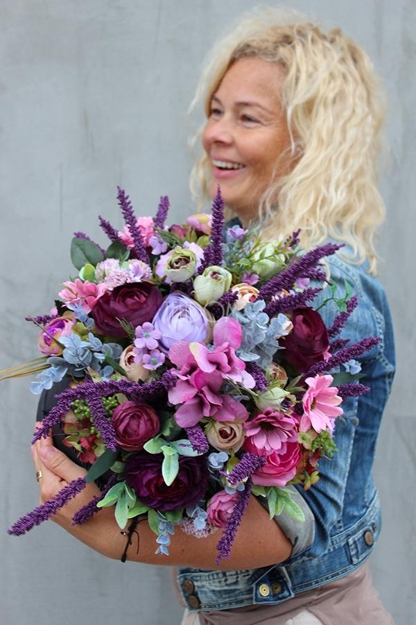 flower box z jesiennymi dekoracjami od tendom.pl